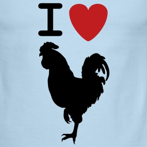 I love Cock shirt - Men's Ringer T-Shirt