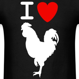 Mens I love Cock Shirt - Men's T-Shirt