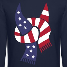 usa_scarf_limited_edition Long Sleeve Shirts