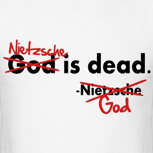 God / Nietzsche is dead. Vector Design T-Shirts - Men's T-Shirt