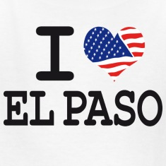 i love el paso Kids' Shirts