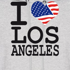 i love los angeles Hoodies - Men's Hoodie