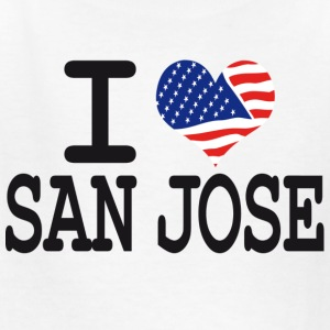i love san jose Kids' Shirts - Kids' T-Shirt