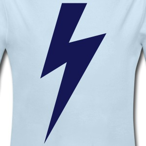 Lightning bolt - Long Sleeve Baby Bodysuit