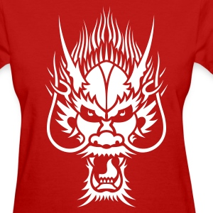 Chinese Dragon Head 1 Women's T-Shirts - Women's T-Shirt