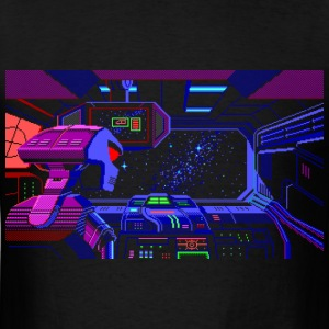 Hyperspace - Men's T-Shirt