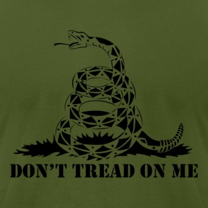 Dont Tread On Me - Men's T-Shirt by American Apparel