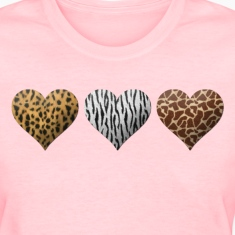 Animal Hearts Women's T-Shirts