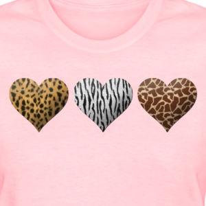 Animal Hearts Women's T-Shirts - Women's T-Shirt