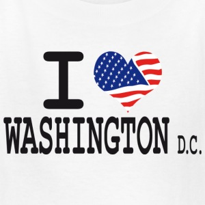 i love washington dc Kids' Shirts - Kids' T-Shirt