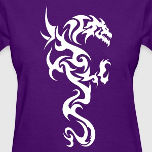 Dragon Tribal Tattoo 1 Women's T-Shirts - Women's T-Shirt