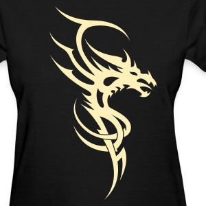 Dragon Tribal Tattoo 4 Women's T-Shirts - Women's T-Shirt