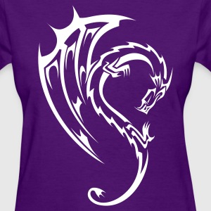 Dragon Tribal Tattoo 11 Women's T-Shirts - Women's T-Shirt