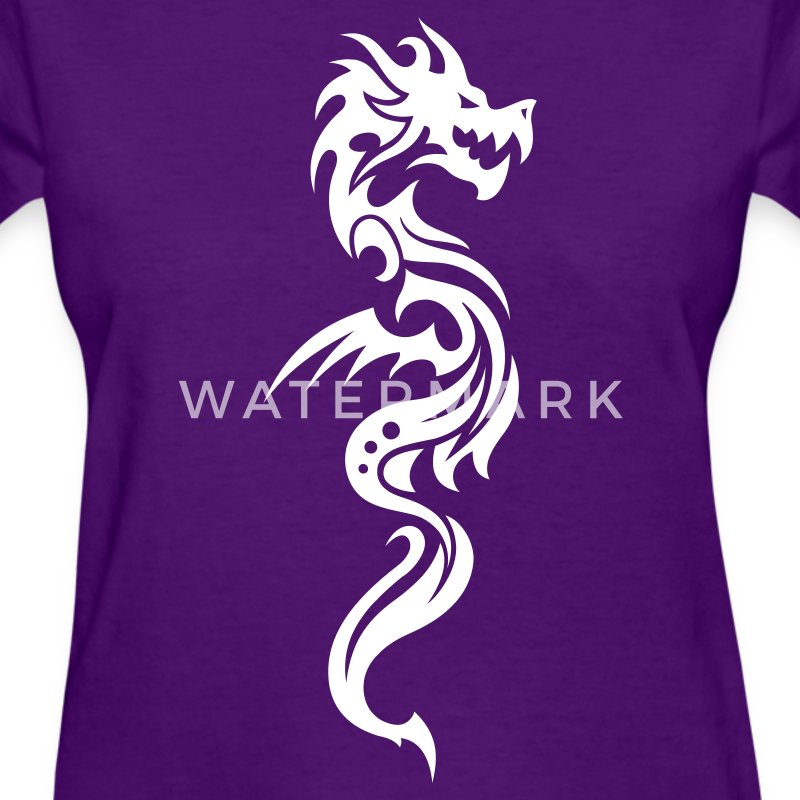 Dragon Tribal Tattoo 12 Women's T-Shirts - Women's T-Shirt