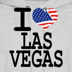 i love las vegas Hoodies