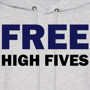 Free high fives - Men's Hoodie