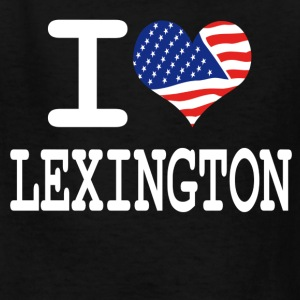 i love lexington - white Kids' Shirts - Kids' T-Shirt