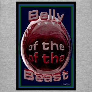 Lady's V - Belly of the Beast - Women's V-Neck T-Shirt