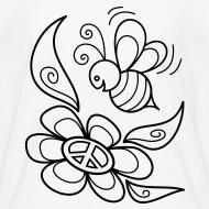 Design ~ Bumble Bee Coloring T-shirt