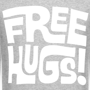 free hugs Long Sleeve Shirts - Crewneck Sweatshirt