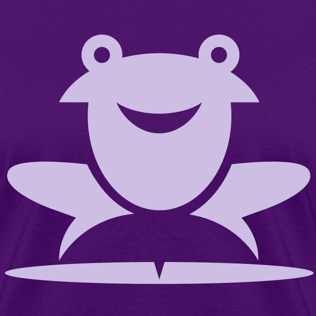 Froggie (Purple) Women's Standard Weight T-Shirt