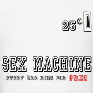 sex machine - Men's T-Shirt