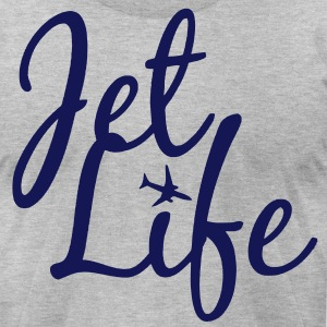 Jet Life Tee - Men's T-Shirt by American Apparel