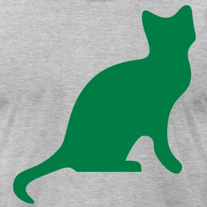 Cat Tee - Men's T-Shirt by American Apparel