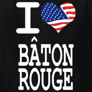 i love baton rouge  - white Kids' Shirts - Kids' T-Shirt