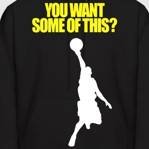Baskeball player Hoodies - Men's Hoodie