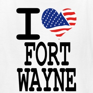 i love fort wayne Kids' Shirts - Kids' T-Shirt
