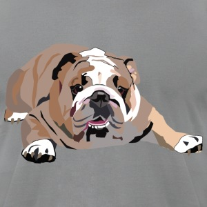 Bulldog - Men's T-Shirt by American Apparel