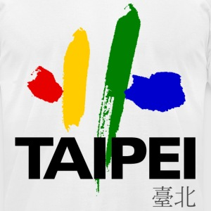 Taipei - Men's T-Shirt by American Apparel