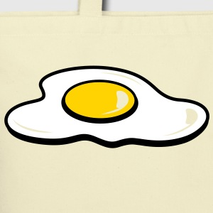Egg Sunny Side Up (3c)++ Bags  - Eco-Friendly Cotton Tote