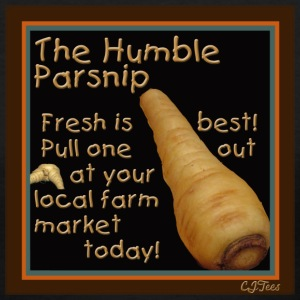 Lady's V - The Humble Parsnip. Be Fresh, Pull One Out Today! - Women's V-Neck T-Shirt