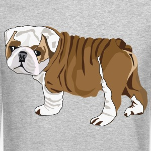 Bulldog Puppy - Crewneck Sweatshirt