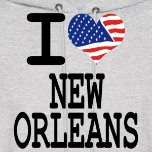 i love new orleans Hoodies - Men's Hoodie