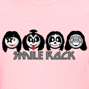 Smile Rock - Smiley Icons (dd light) Women's T-Shirts - Women's T-Shirt