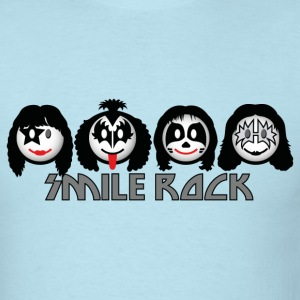 Smile Rock - Smiley Icons (dd light) T-Shirts - Men's T-Shirt