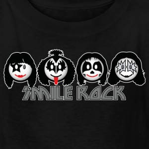 Smile Rock - Smiley Icons (dd dark) Kids' Shirts - Kids' T-Shirt