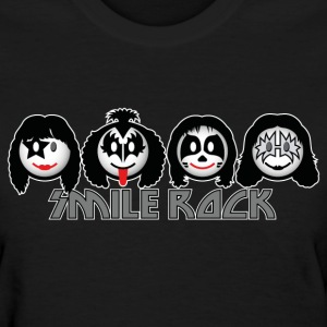 Smile Rock - Smiley Icons (dd dark) Women's T-Shirts - Women's T-Shirt