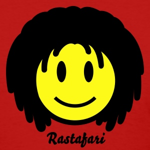 Rasta Reggae Smiley Icon 2c Women's T-Shirts - Women's T-Shirt