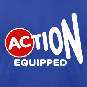Action Equipped - Men's T-Shirt by American Apparel