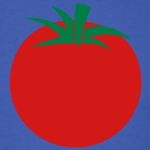 a simple tomato with green stalk T-Shirts - Men's T-Shirt
