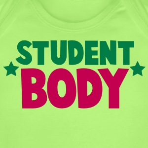 student body great for student college tee shirt Baby Bodysuits - Short Sleeve Baby Bodysuit