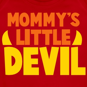 MOMMY's LITTLE DEVIL Baby Bodysuits - Short Sleeve Baby Bodysuit