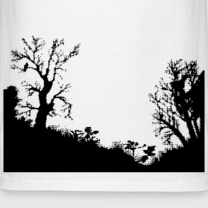 Shadow forest - Men's T-Shirt