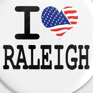 i love raleigh Buttons - Small Buttons