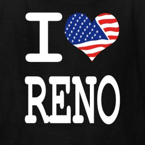 i love reno - white Kids' Shirts - Kids' T-Shirt