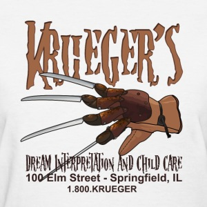 Freddy Krueger's Child Care Women's T-Shirts - Women's T-Shirt